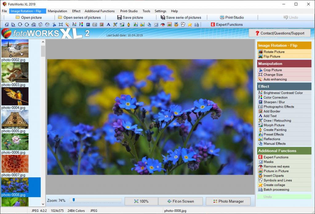 Photo Editing Software - For Windows - Free Download