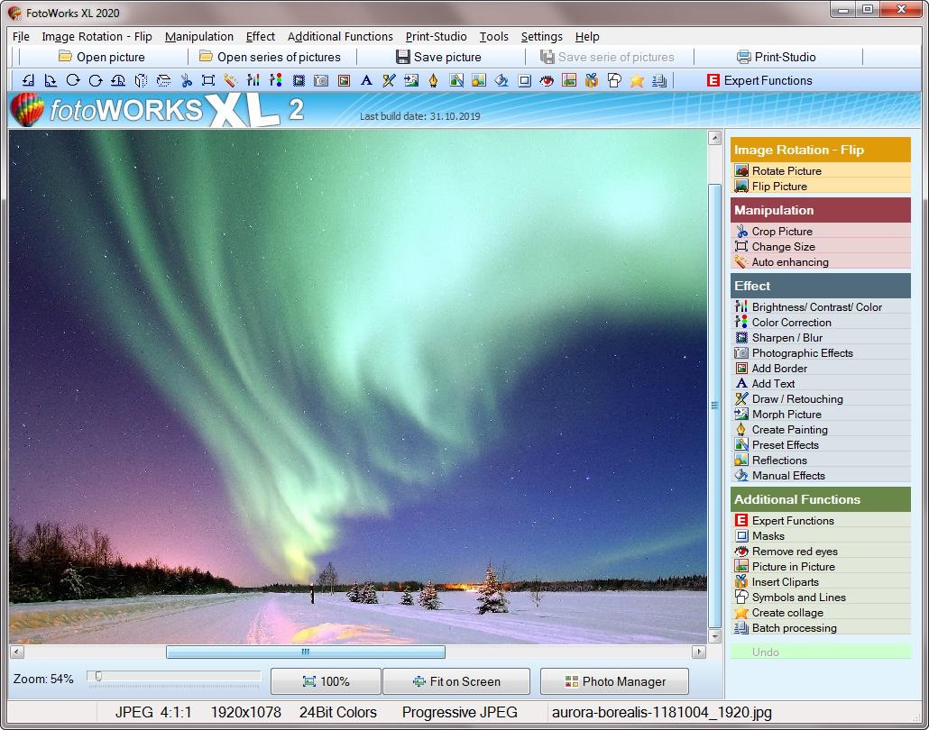 edit photos windows 10