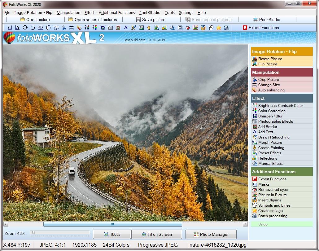photo editing program for windows 10